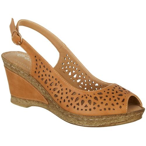c03fd341ad78 Patrizia by Spring Step Womens Shaninioqua Wedges