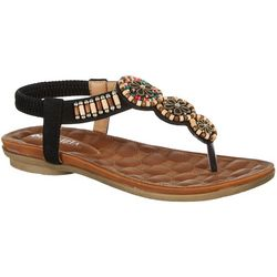 Patrizia by Spring Step Womens Ruthanne Beaded Sandals