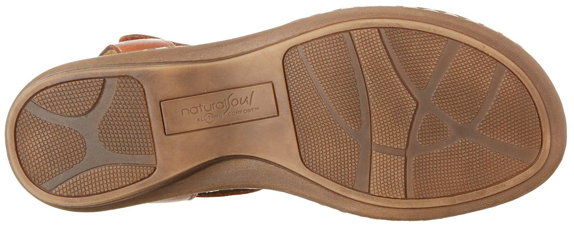 Natural Soul by Naturalizer Naturalizer Naturalizer Womens Barroll Sandals a0ff83