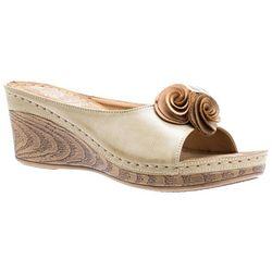 GC SHOES Womens Sydney Wedge Sandals