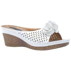 GC SHOES Womens Julliet Wedge Sandals