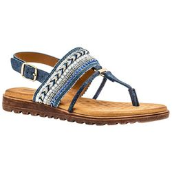GC SHOES Womens Letty Thong Sandals