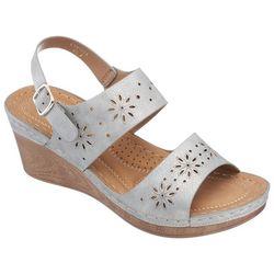 GC Shoes Womens Cynthia Wedge