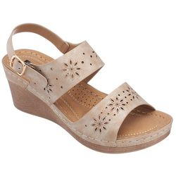 GC Shoes Womens Cynthia Wedge