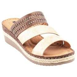 GC SHOES Womens Lupe Wedges