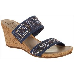 IMPO Womens Vessie Wedge Sandals