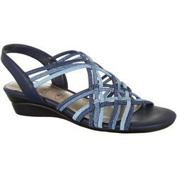 IMPO Women's Ronda Strappy Wedge Sandal