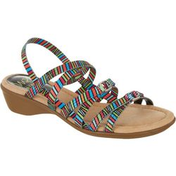 Womens Geniece Stretch Casual Sandals