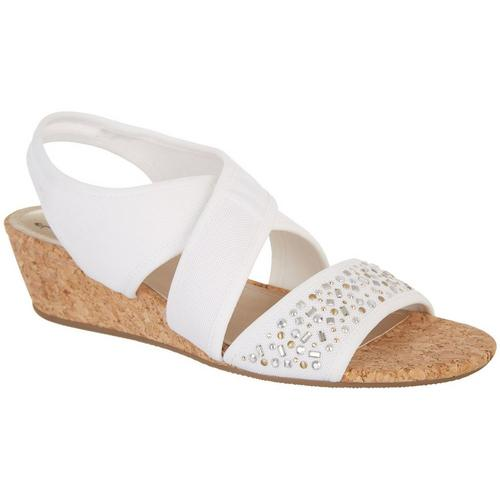 8614ca345a IMPO Womens Galena Stretch Cork Wedge Sandals | Bealls Florida
