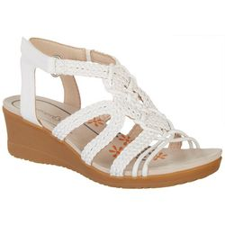 Bare Traps Womens Takara Wedge Sandals