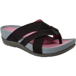 Bare Traps Womens Agatha Wedge Sandals