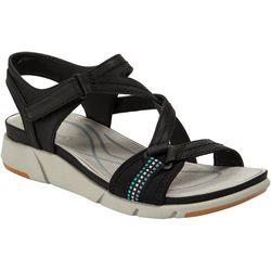 Bare Traps Womens Nanci Casual Wedge Sandals