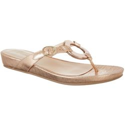Wear Ever by Bare Traps Womens Mennie Thong Sandals