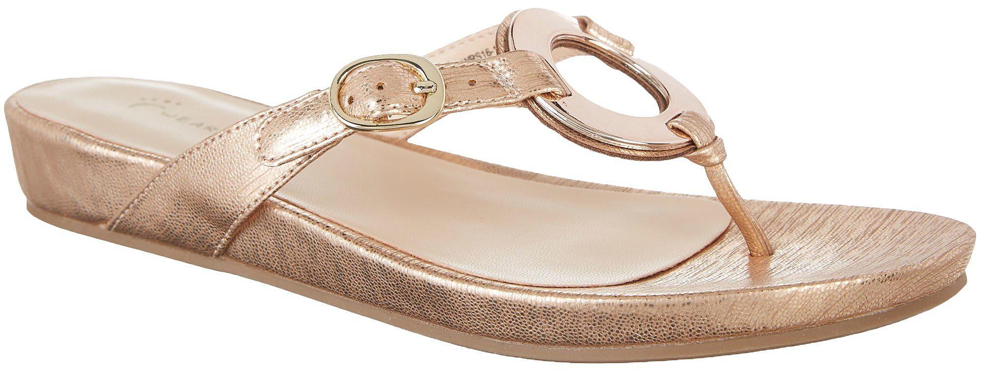 370cd616b Wear Ever by Bare Traps Womens Mennie Thong Sandals