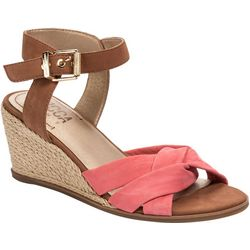 Lucca Lane Womens Hermione Wedge Sandal