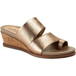 Lucca Lane Womens Whitley Wedge Sandals