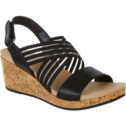 Wearever Womens Apple Wedged Sandals