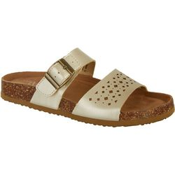 Wearever Paulina Womens Footbed Sandals