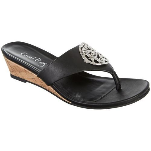 2d24681f377 Coral Bay Womens Ramona Thong Sandals