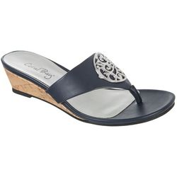 Coral Bay Womens Ramona Thong Sandals