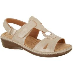 Coral Bay Womens Julia Sandals