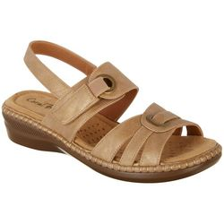Coral Bay Womens Jane Sandals