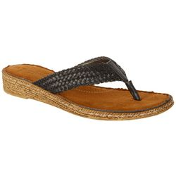 Coral Bay Womens Madrid Thong Sandals