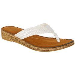 Coral Bay Womens Madrid Thong Sandals