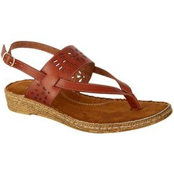 Coral Bay Womens Barcelona Thong Sandals