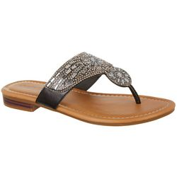 Paradise Shores Womens Kasandra Thong Sandals