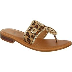 Sunsets and Sweet Tea Womens Kate Cheetah Print Sandals