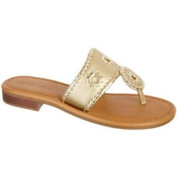 Paradise Shores Womens Kate Thong Sandals