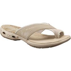 Columbia Womens Kea Vent Toe Loop Flip Flops