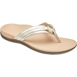 Womens Aloe Leather flip flop