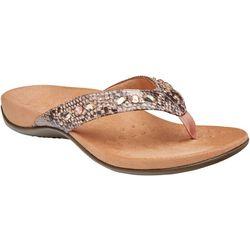 Vionic Womens Lucia Flip Flops