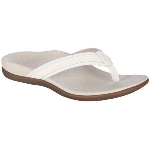 4132d368423e4a Vionic Womens Tide 2 White Sandals