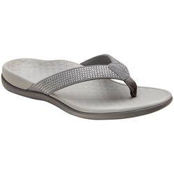 Womens Tide Rhinestone Thong Sandals