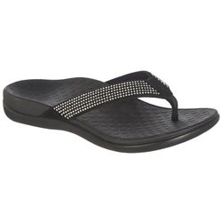 Vionic Womens Tide 2 Sequin Sandals