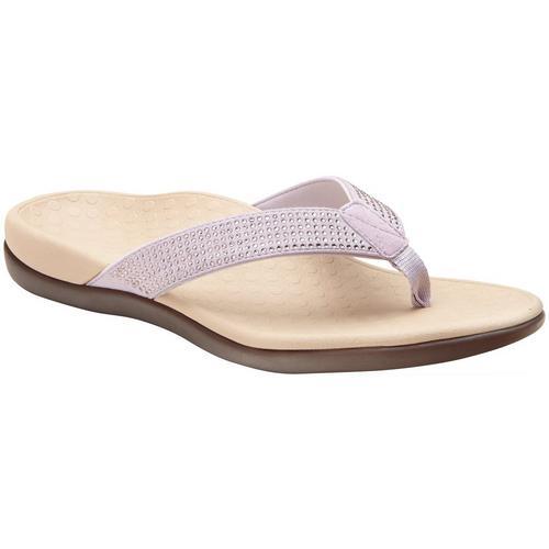 29749c8fafa8 Vionic Womens Tide Rhinestone Thong Sandals