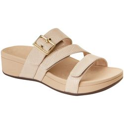 Vionic Womens Rio Lizard Texture Sandals