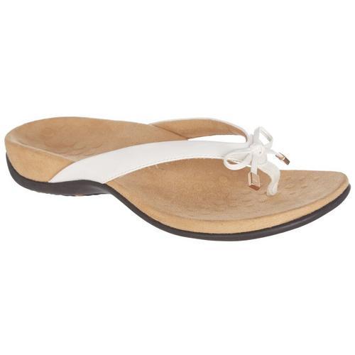 48b17f28aea Vionic Womens Bella 2 White Sandals