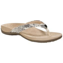 Vionic Womens Davina Flip Flops