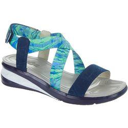 J sport Womens Sunny Sandals