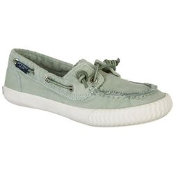 Sperry Womens Mint Green Boat Shoes