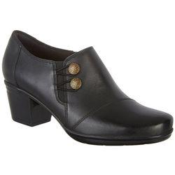 0f0592cf6c9 Clarks Womens Emslie Warren Ankle Boots