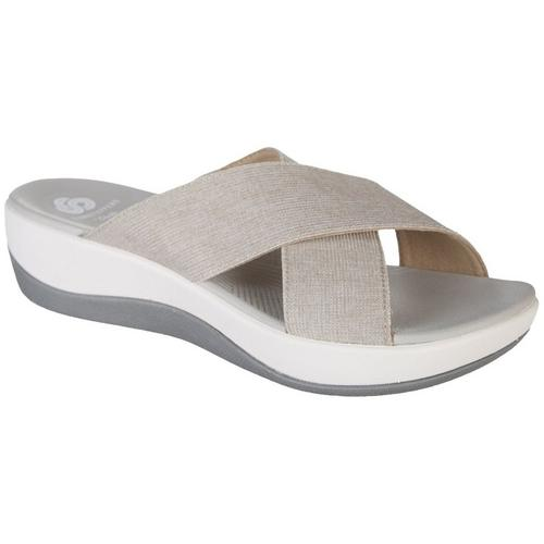 2f1c64356a1 Clarks Womens Cloudsteppers Arla Elin Sandals