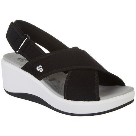 9c029b0ce82 Clarks Womens Step Cali Sandals