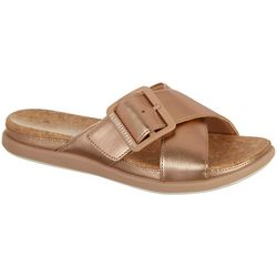 Clarks Womens Step June Shell Sandals