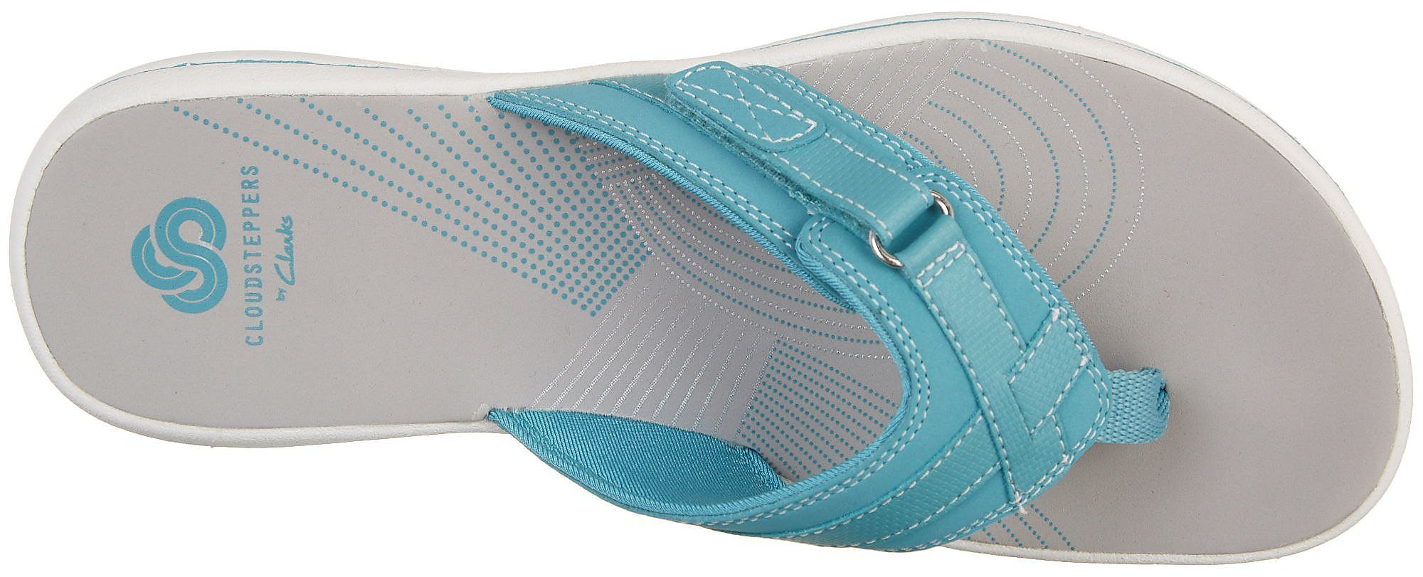 Clarks-Womens-Breeze-Sea-Flip-Flops-Comfort-Summer-Sandals thumbnail 3