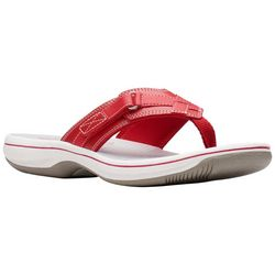 Clarks Womens Breeze Sea Flip Flop Sandals